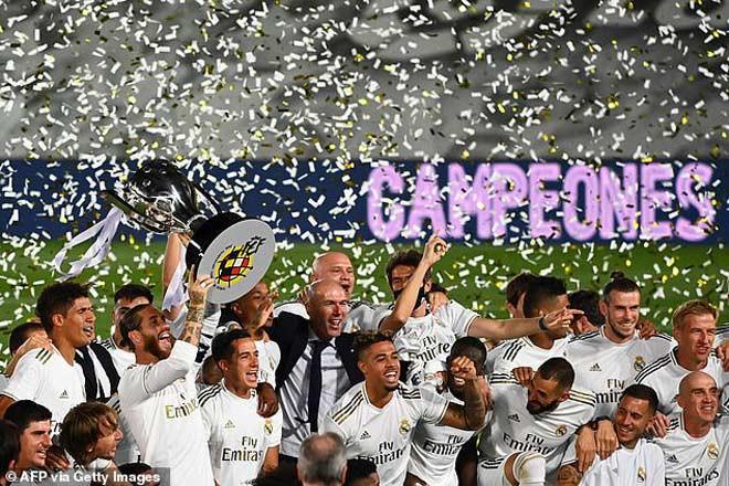 Real Madrid thắng Villarreal 2-1 để chính thức vô địch La Liga mùa này sớm 1 vòng đấu |JP88