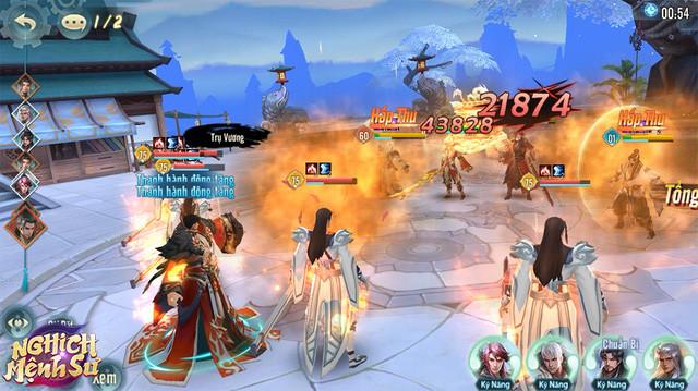 """Lối chơi giống Âm Dương Sư, đồ họa đạt chuẩn """"siêu phẩm"""", game Tam Quốc này đang chiếm sóng"""