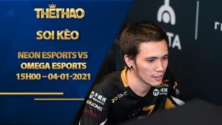 Kèo DOTA2, Neon Esports vs Omega Esports 2021: Season 1 – Southeast Asia Closed Qualifier Stage 1