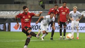 Bruno Fernandes tung chiêu mới trên chấm 11m, phá lưới Europa League