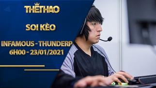 Soi kèo DOTA2, Infamous vs ThunderP – Dota 2 OGA DPC South America Regional League Season 1