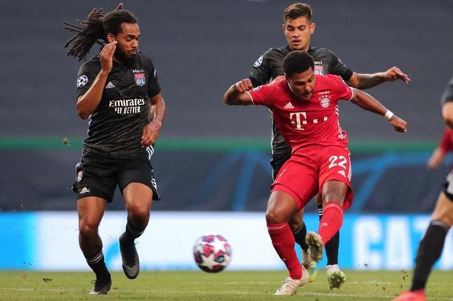 Gnabry mở tỷ số cho Bayern với cú sút không thể cản phá