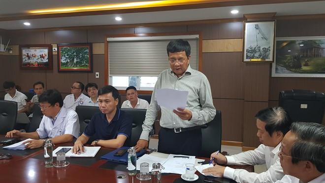 Đại diện Sở GTVT tỉnh Quảng Bình phát biểu tại họp báo |JP88