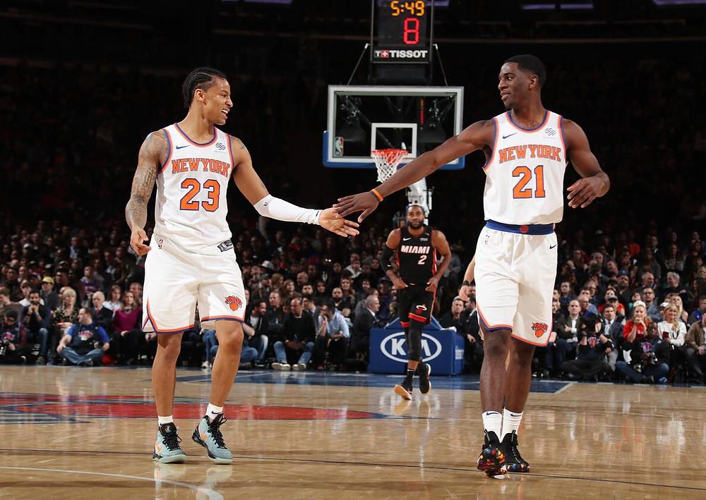 Các cầu thủ của New York Knicks và Brooklyn Nets sẽ trở lại tập luyện vào đầu tháng 6. |JP88