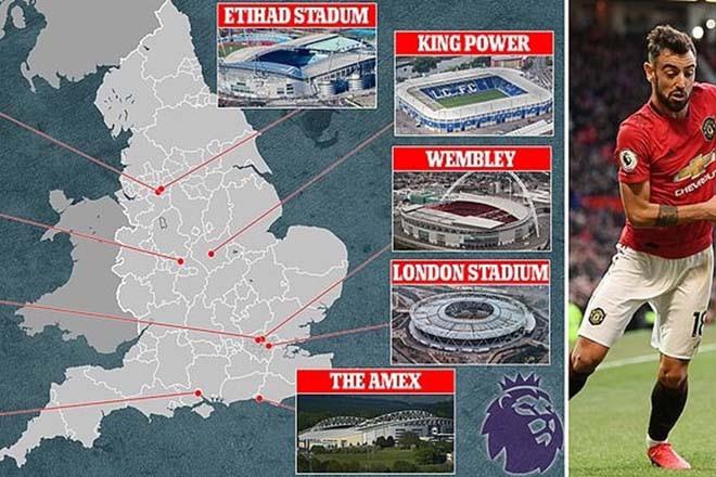Nhiều đội bóng Ngoại hạng Anh  phản đối kế hoạch đá trên sân trung lập. |JP88