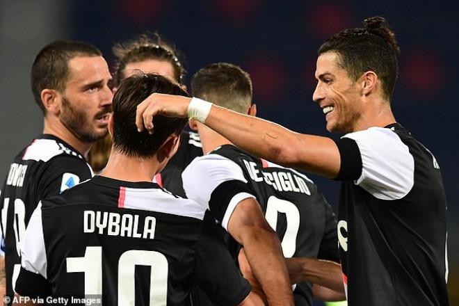 Chung cuộc, Juventus thắng 2-0 (Dybala ghi bàn ấn định tỷ số) và củng cố ngôi đầu bảng  JP88