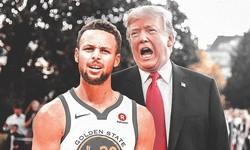 Curry từng thẳng thừng lời từ chối của ông Donald Trump tới thăm Nhà Trắng |JP88