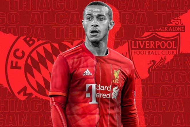 Dù được đồn đoán sắp gia nhập Liverpool, Thiago vẫn nằm trong tầm ngắm của Man City