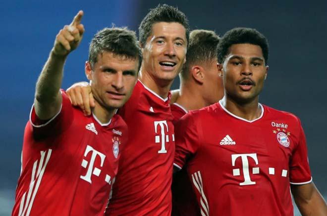 Bayern Munich ghi danh vào chung kết Champions League 2019/20