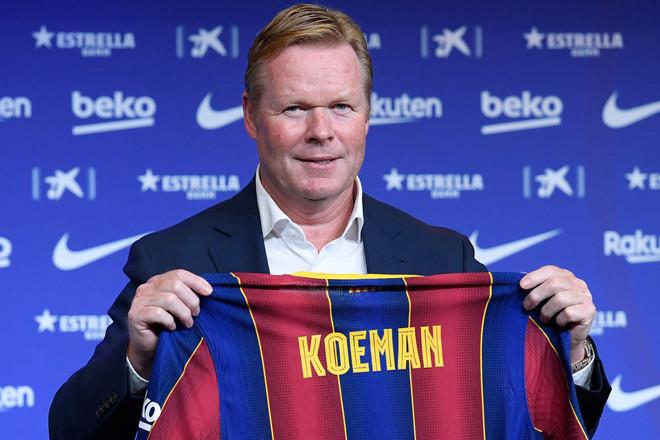 Ronald Koeman trở lại đội bóng cũ Barcelona trong vai trò mới hết sức quan trọng