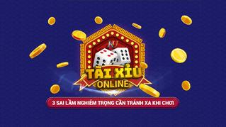 3 sai lầm nghiêm trọng cần tránh xa khi chơi Tài Xỉu online