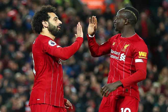 Hình ảnh Salah và Mane. |JP88