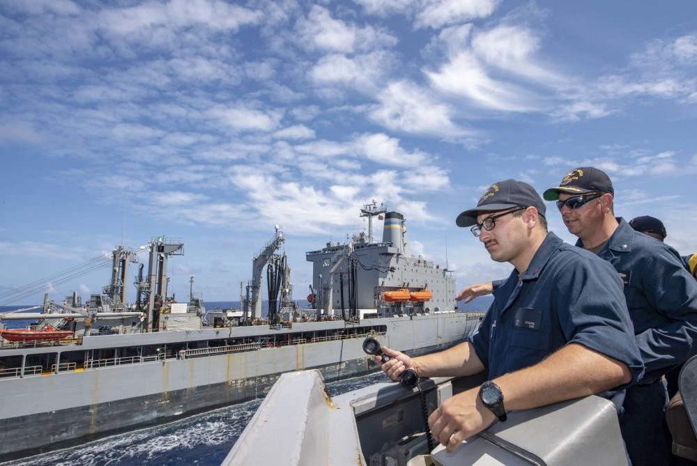 Hải quân Mỹ cần phối hợp các nước khu vực đảm bảo tự do hàng hải trước thách thức từ Trung Quốc. |JP88