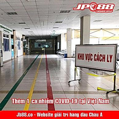 Thêm 1 ca nhiễm COVID-19 tại Việt Nam
