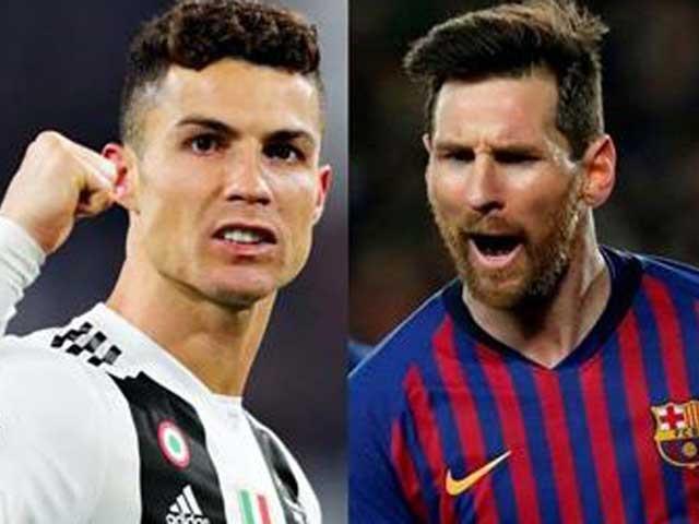 Ronaldo kém xa Messi về giá trị trên thị trường chuyển nhượng |JP88