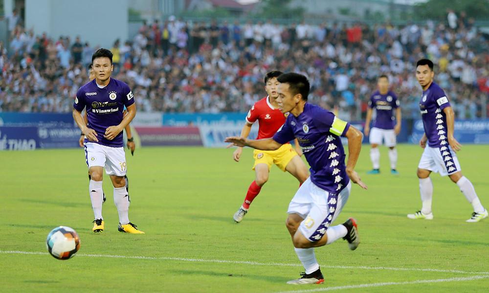 Quang Hải bị đau từ trận gặp HAGL |JP88