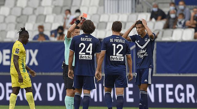 Trận hòa 0-0 trước Bordeaux của Nantes.