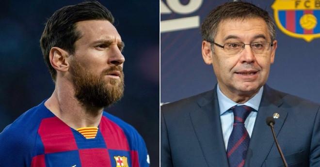 Messi muốn Chủ tịch Bartomeu rời ghế |Vua-the-thao