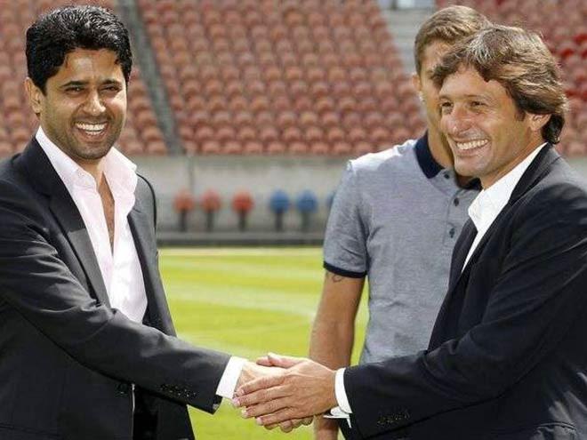 Chủ tịch Al-Khelaifi và Giám đốc điều hành Leonardo đang tồn tại mâu thuẫn ở PSG