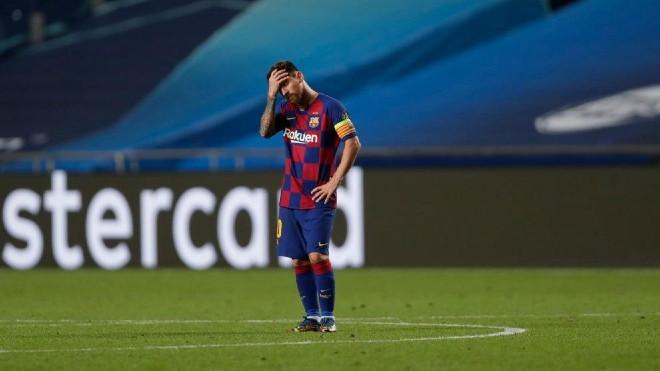 Lionel Messi quá chán nản với Barcelona |JP88