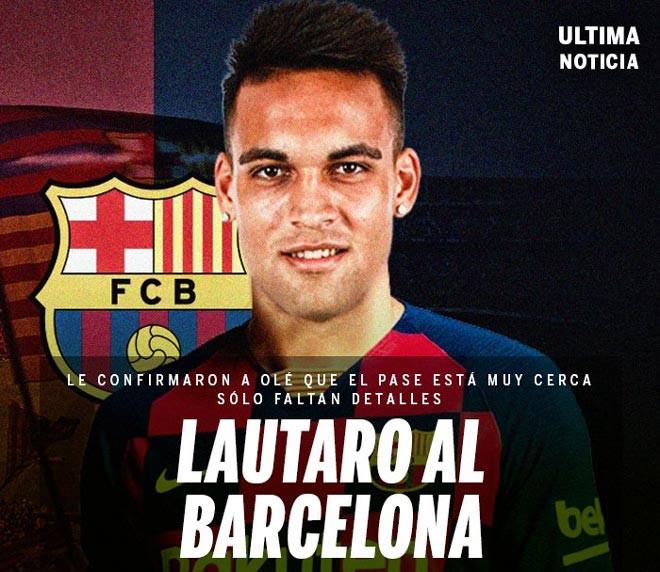 Barcelona sắp có được Lautaro Martinez? |JP88