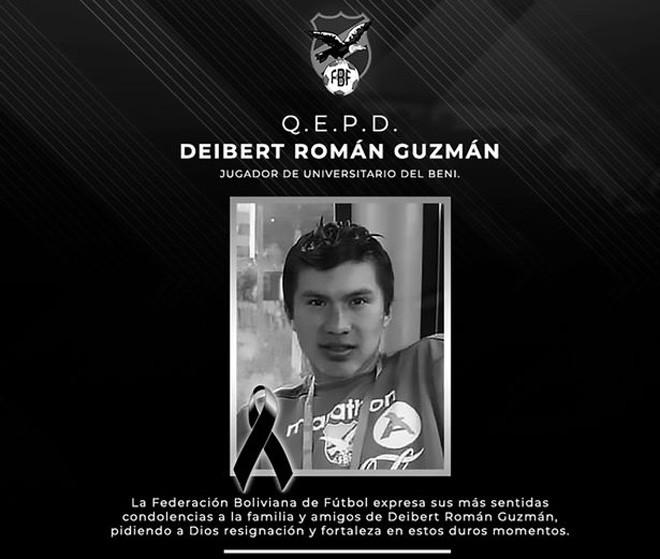 Deibert Frans Roman Guzman được ghi nhận là cầu thủ bóng đá đầu tiên tử vong vì Covid-19 |JP88