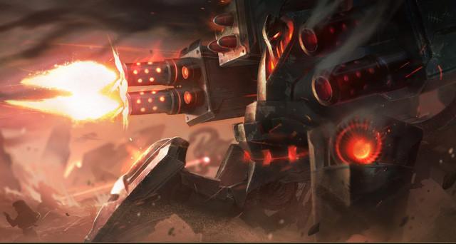 Urgot bị Riot Games nerf quá nặng tới nỗi không ngóc đầu lên nổi