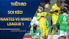Soi kèo Nantes vs Nimes, 20h00 ngày 30/8, League 1