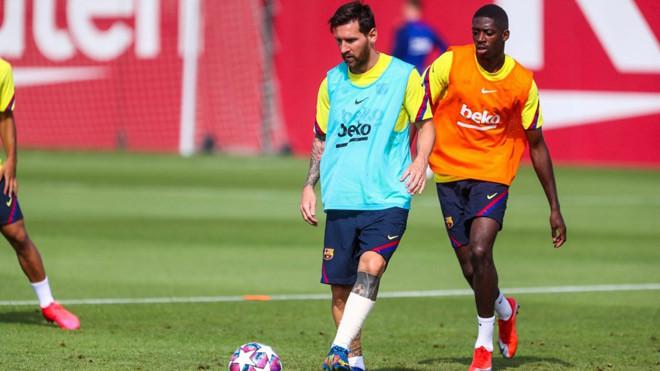 Messi đã trở lại tập luyện bình thường và sẵn sàng cùng Barca đại chiến Bayern Munich |JP88
