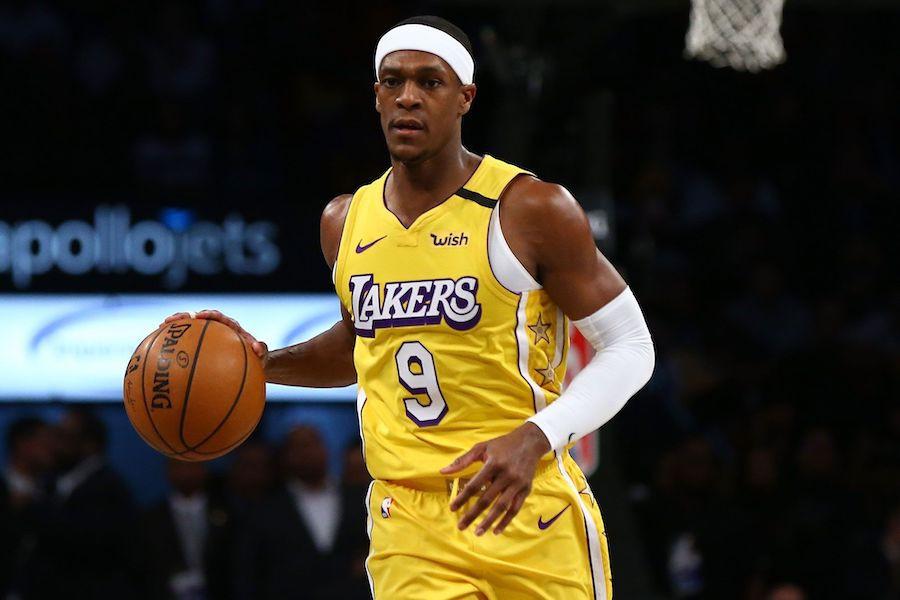 Rajon Rondo dính chấn thương trong buổi tập của Lakers |vua-the-thao