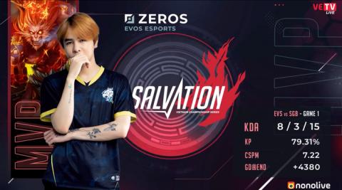Zeros có Penta Kill đầu tiên và MVP của ván đấu  ST666-VN-GAME