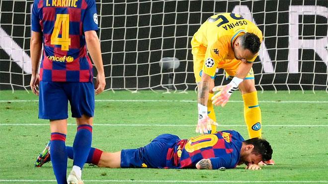 Messi khiến các fan lo lắng nhưng vẫn sẽ kịp cùng Barcelona đại chiến Bayern Munich |Vua-the-thao