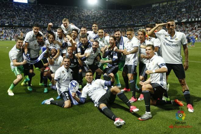 Real đã ở rất gần chức vô địch La Liga sau 3 năm chờ đợi |JP88