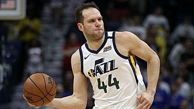 NBA: Bojan Bogdanovic sẽ phải nghỉ phần còn lại của mùa giải này sau khi phẫu thuật cổ tay