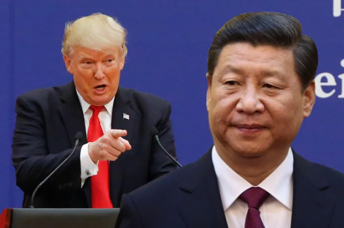 Tổng thống Mỹ Donald Trump (trái) và Chủ tịch Trung Quốc Tập Cận Bình. |JP88