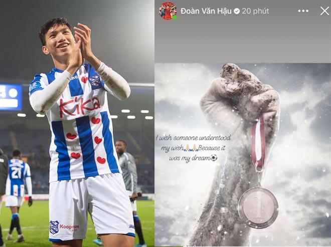 Văn Hậu bày tỏ nguyện vọng ở lại  Heerenveen sau 1 năm tích lũy kinh nghiệm |JP88