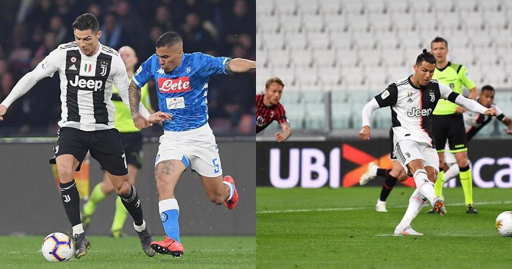 Ronaldo chơi tệ trước Napoli ở chung kết Coppa Italia  JP88