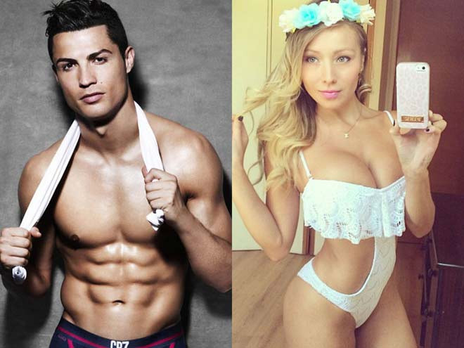 Cristiano Ronaldo từng có mối tình thoáng qua với người mẫu tạp chí người lớn Play Boy, Daniella Chavez
