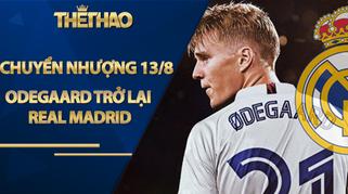 """Tin chuyển nhượng HOT 13/8: """"Thần đồng"""" Odegaard trở lại Real Madrid"""