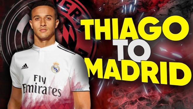 Sau Liverpool,đến lượt Real nhảy vào cuộcđua giành Thiago  JP88