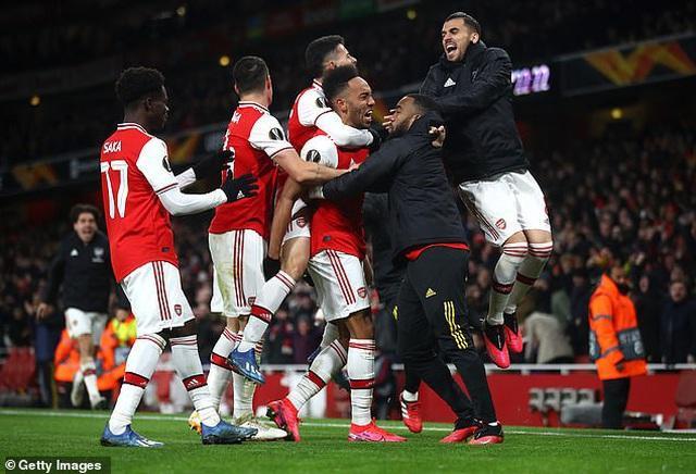 Arsenal được hưởng lợi nếu Premier League dùng hệ số UEFA để xác định đội dự Cúp châu Âu. |JP88
