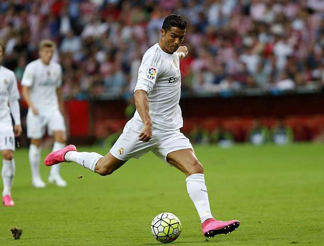 Ronaldo trổ tài đá phạt |JP88