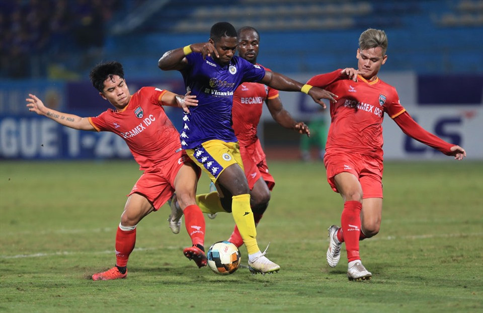 Ngoại binh Rimario được kỳ vọng sẽ giúp Bình Định bay cao ở V-League 2021.