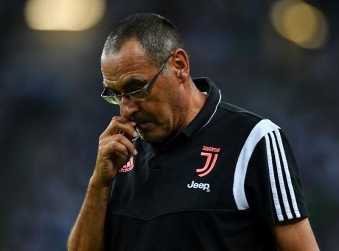 HLV Sarri bị sa thải sau khi Juventus bị loại khỏi Cúp C1 |vua-the-thao