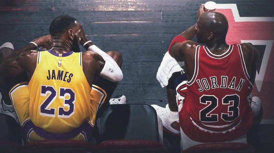 LeBron James đã phấn đấu để đạt được thành công như thần tượng của mình  JP88