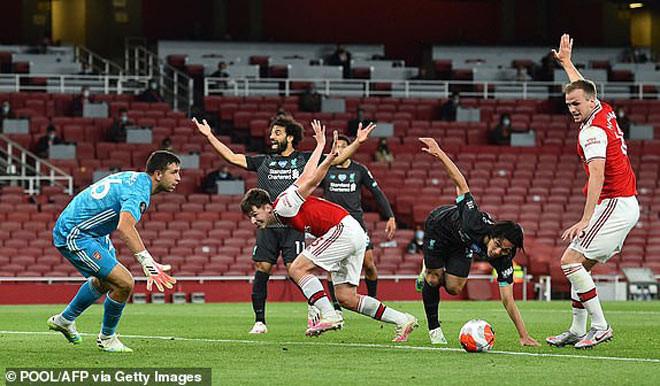Liverpol thua ngược ngỡ ngàng Arsenal vì những sai lầm cá nhân ngỡ ngàng |JP88