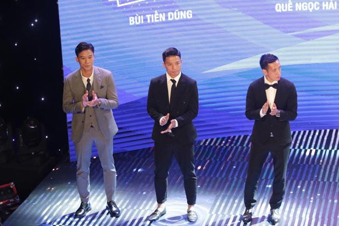 """Top 3 ứng viên cuối cùng tranh giải """"Quả bóng Vàng Việt Nam năm 2020"""""""