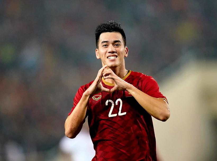 Tiền đạo Nguyễn Tiến Linh có bước nhảy vọt về định giá trên Transfermarkt |JP88
