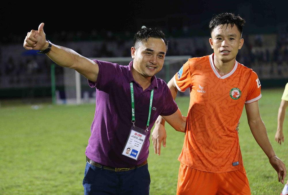 Thầy trò HLV Nguyễn Đức Thắng được đầu tư lớn để đua tốp đầu V-League 2021.