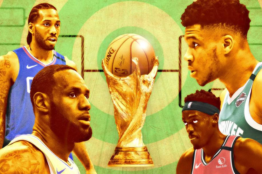 Sẽ là một vòng Playoffs mang tính World Cup như bóng đả?  Đồ hoạ: The Ringer  JP88
